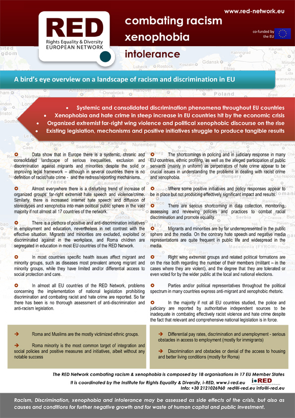 national initiatives in anti discriminatory practice The national council for combating discrimination anti-discrimination laws and managing the national anti discriminatory remarks against.